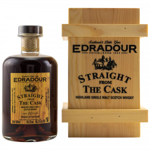 Edradour 2009/2020 10 Jahre Straight from the Cask Sherry Cask No. 386