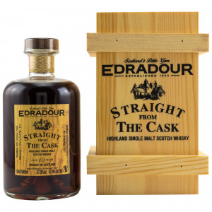 Edradour 2009/2019 10 Jahre Straight from the Cask Sherry Cask No. 353