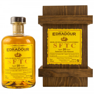 Edradour 2008/2018 10 Jahre Straight from the Cask Sauternes Cask Nr. 336