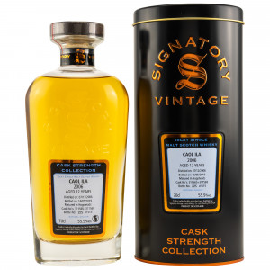 Caol Ila 2006/2019 12 Jahre Hogshead-Nr. 311565+311569 (Signatory Cask Strength Collection)