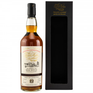 Ben Nevis 1997/2019 22 Jahre Cask No. 91 (The Single Malts of Scotland)