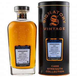 Bunnahabhain 2007/2019 12 Jahre 1st Fill Sherry Butt No. 585 (Signatory Cask Strength)