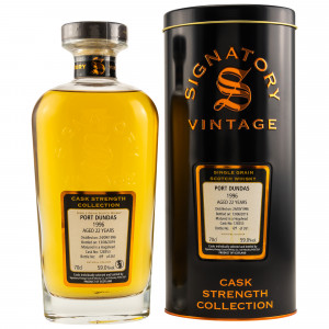 Port Dundas 1996/2019 22 Jahre Single Cask No. 128353 (Signatory Cask Strength Collection)