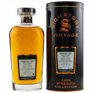 Tomintoul 1995/2019 24 Jahre Cask No. 16/3 (Bourbon Hogshead) Sherry Finish (Signatory Cask Strength)