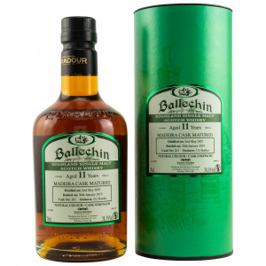 Ballechin 2007/2019 11 Jahre Madeira Cask (Bottled for Kirsch Whisky)