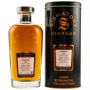 Deanston 2008/2019 10 Jahre 1st Fill Sherry Butt No. 900074 (Signatory Cask Strength)