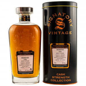 Deanston 2008/2019 10 Jahre 1st Fill Sherry Butt No. 900073 (Signatory Cask Strength)