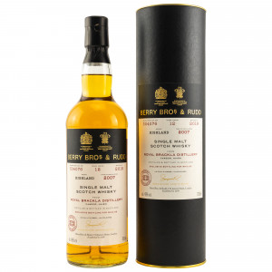 Royal Brackla 2007/2019 12 Jahre Cask No. 304076 Moscatel Wine Finish Bottled for whic.de (Berry Bros & Rudd)