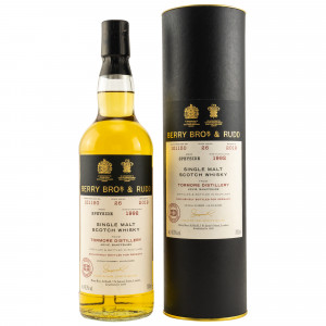 Tormore 1992/2019 26 Jahre Cask Nr. 101150 Charred Port Finish  (Berry Bros & Rudd)