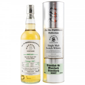 Mortlach 2007/2019 12 Jahre Casks No. 304927+304929 (Signatory Un-Chillfiltered)