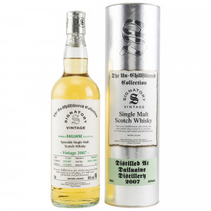 Dailuaine 2007/2019 Cask No. 303263+303264 (Signatory Un-Chillfiltered)
