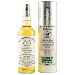 Dailuaine 2007/2019 Cask No. 303265+303266 (Signatory Un-Chillfiltered Collection)