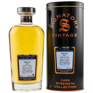 Caol Ila 2007/2019 12 Jahre Hogsheads No. 300893+300896 (Signatory Cask Strength Collection)