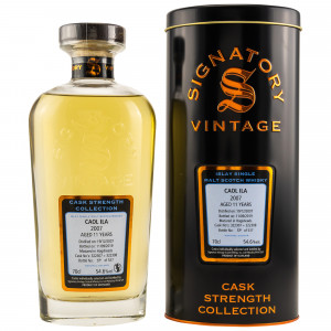 Caol Ila 2007/2019 11 Jahre Hogsheads No. 322307+322308 (Signatory Cask Strength Collection)