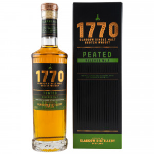 1770 Glasgow Single Malt Scotch Whisky Peated Release No. 1