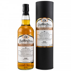 Ballechin 2009/2019 9 Jahre Sherry Cask No. 340