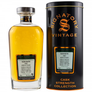 Glen Keith 1997/2019 22 Jahre Casks No.72589+72590 (Signatory Cask Strength)