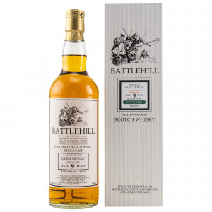 Glen Moray 9 Jahre Battlehill Single Cask (Duncan Taylor)
