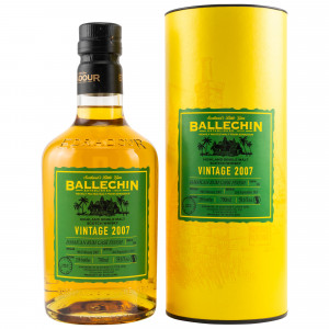 Ballechin 2007/2019 12 Jahre Jamaican Rum Cask Finish