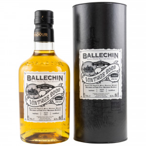 Ballechin Vintage 2009/2019 First Fill Bourbon Barrels