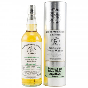 Glen Elgin 2007/2020 Casks No. 800251+800259 (Hogsheads) (Signatory Un-Chillfiltered)