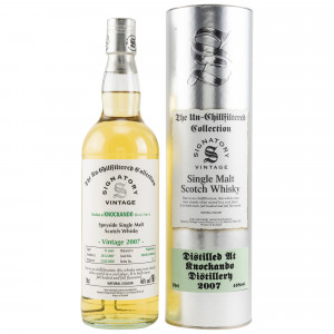 Knockando 2007/2020 - 12 Jahre Cask No. 304102+304106 (Signatory Un-Chillfiltered Collection)