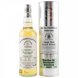 Knockando 2007/2020 - 12 Jahre Cask No. 304110+304111 (Signatory Un-Chillfiltered Collection)
