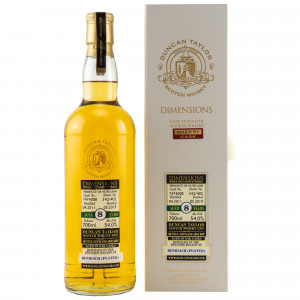 Benriach 2011/2019 8 Jahre Dimensions Peated Sherry Single Cask No. 7474008 (Duncan Taylor)