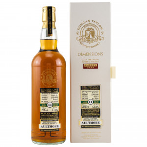 Aultmore 2008/2020 - 11 Jahre Dimensions Single Sherry Cask No. 950001 (Duncan Taylor)