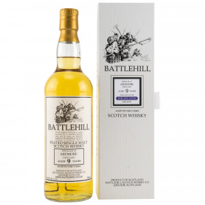 Ardmore 9 Jahre Battlehill Peated Single Malt (Duncan Taylor)