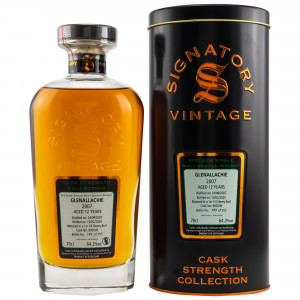 Glenallachie 2007/2020 - 12 Jahre First Fill Sherry Butt No. 900509 (Signatory Cask Strength)
