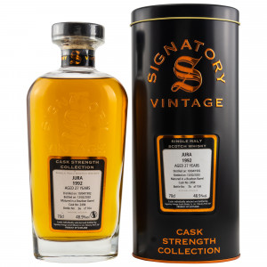 Isle of Jura 1992/2020 - 27 Jahre Bourbon Barrel 2494 (Signatory Cask Strength Collection)