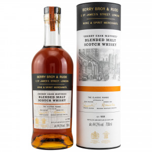 Blended Malt Sherry Batch 2 The Classic Range (Berry Bros and Rudd)