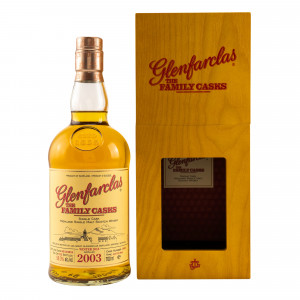 Glenfarclas 2003/2018 The Family Casks 4th Fill Butt No. 1963