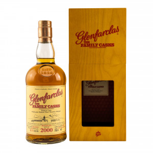 Glenfarclas 2000/2018 The Family Casks Refill Sherry Hogshead No. 6395
