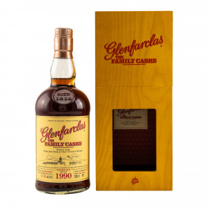 Glenfarclas 1990/2018 The Family Casks Sherry Butt No. 5117