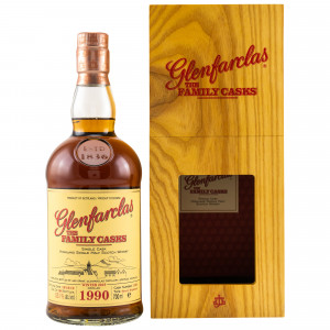 Glenfarclas 1990/2019 The Family Casks Cask No. 1188 Sherry Hogshead