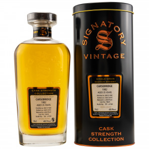 Carsebridge 1982/2018 - 35 Jahre Single Grain - Cask No. 74604 (Refill Butt) (Signatory Cask Strength)