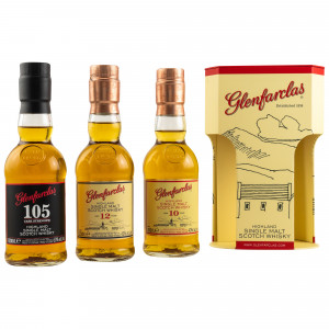 Glenfarclas Tripack Collection 10 Jahre, 12 Jahre, 105 (3x 200ml)