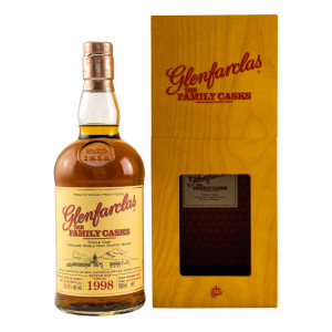 Glenfarclas Vintage 1998/2018 The Family Casks 4th Fill Hogshead No. 4455
