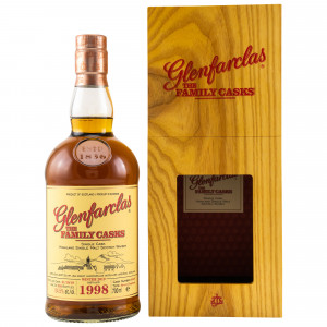 Glenfarclas 1998/2019 The Family Casks Cask No. 4449 Sherry Hogshead