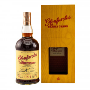 Glenfarclas 1991/2018 The Family Casks Sherry Butt No. 5675