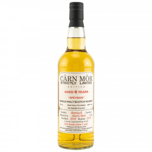 Benriach 2010/2019 8 Jahre Strictly Limited Single Sherry Butt (Carn Mor)