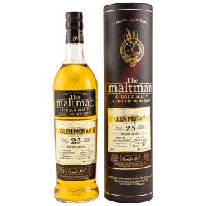 Glen Moray 1993/2019 25 Jahre Single Bourbon Barrel (The Maltman)