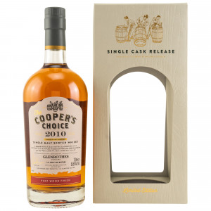 Glenrothes 2010/2019 Port Cask Finish Cask No. 6039 (The Coopers Choice)