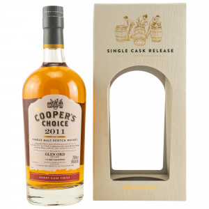 Glen Ord 2011/2019 Sherry Cask Finish Cask No. 4009 (The Coopers Choice)