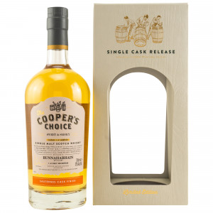 Bunnahabhain Sweet & Smoky Sauternes Cask Finish Cask No. 2439 (The Coopers Choice)