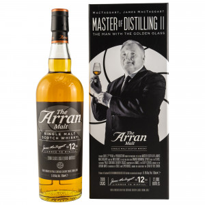Arran 2006 12 Jahre The Man with the Golden Glass (Master of Distilling II)