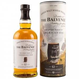 Balvenie 12 Jahre The Sweet Toast of American Oak