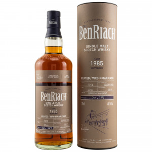 Benriach 1985/2019 33 Jahre Peated Virgin Oak Single Cask No. 7214